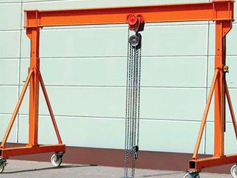 small gantry crane of Weihua sales
