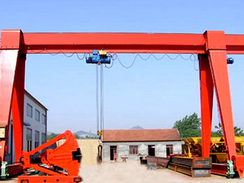 A-type 15 ton gantry crane for sale