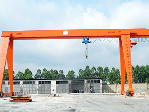 single girder 15 ton gantry crane sales