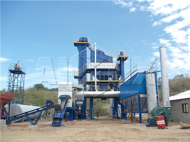 Asphalt processing plant