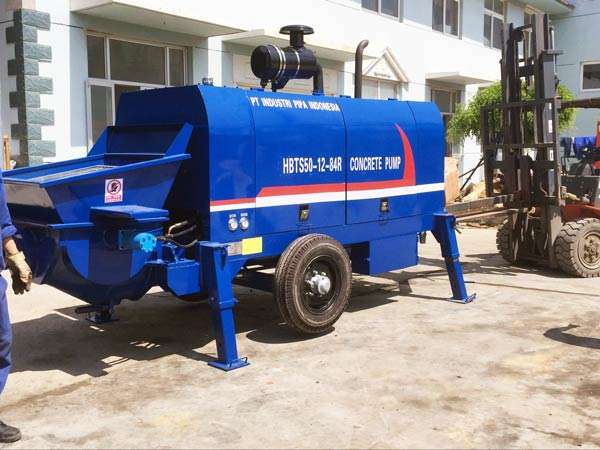 HBT50R concrete pump machine