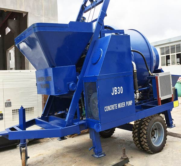 JBS30 concrete pump with mixer