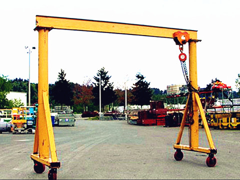 1 ton travelling gantry crane design