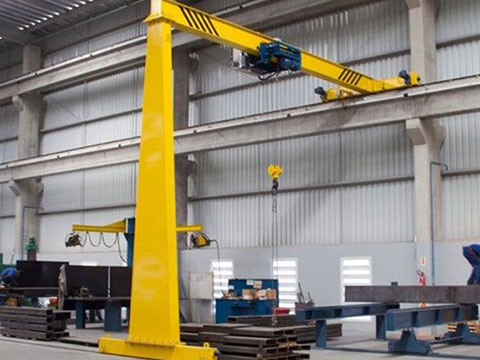 common semi 1 ton gantry crane in Weihua price