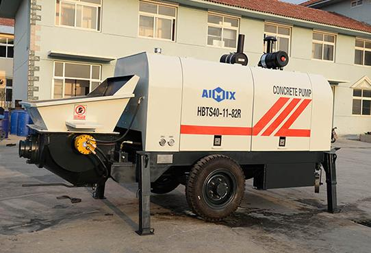 Common Features And Characteristics Of Diesel Concrete Pumps