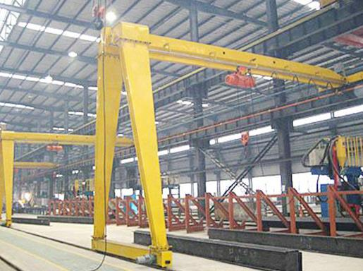 Technical Data Specifications and Components of Semi-Gantry Cranes