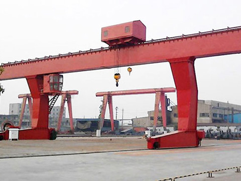 40 ton single girder gantry design crane